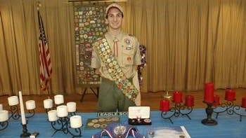 Daniel Parks of East Brunswick's Boy Scout Troop 132 was honored with the rank of Eagle at a Court of Honor ceremony held on June 1, 2014 at the East Brunswick Elks Lodge.