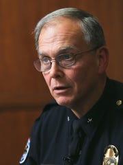 Steve Conrad, Louisville Metro Police Chief.