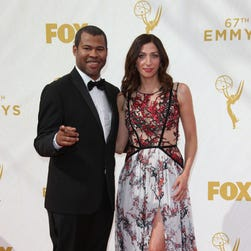 Jordan Peele and Chelsea Peretti tweeted that they're engaged.