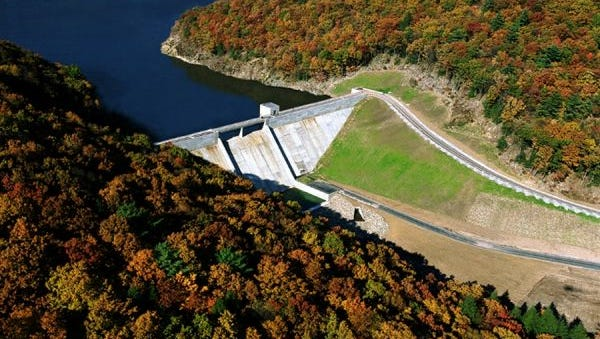 The City of Lebanon Authority draws some of its drinking water from the 1.2 billion gallon Christian E. Siegrist Reservoir in Schuylkill County.