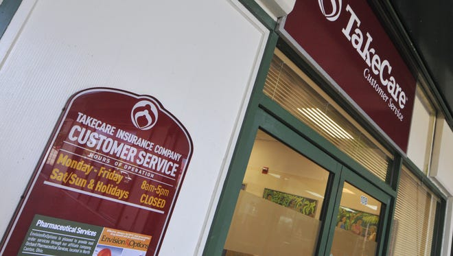 The TakeCare Customer Service office at the Baltej Pavilion in Tamuning.