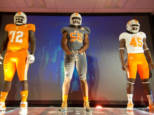 uk availability 5b91f 3c007 Tennessee Volunteers' new jerseys are sign of times