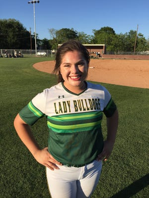 Cecilia's Cheyenne Aritua had two doubles and three RBIs to help the Lady Bulldogs to a 10-0 playoff win over South Terrebonne on Tuesday.
