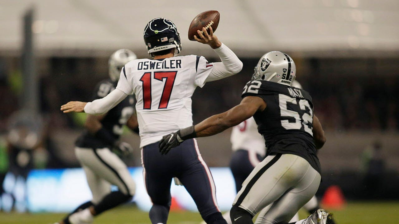 USA TODAY Sports' Lorenzo Reyes breaks down the playoff matchup between the Oakland Raiders and the Houston Texans.