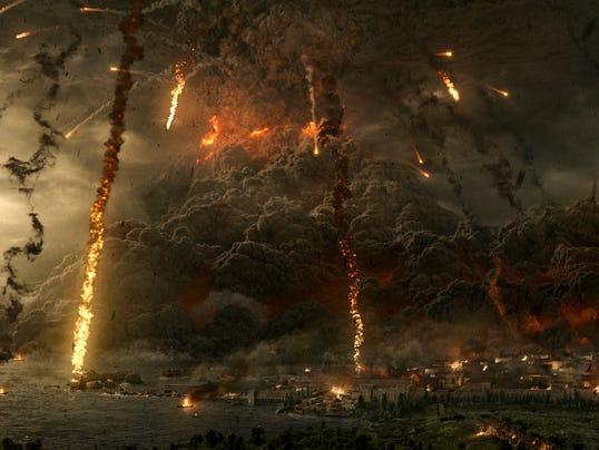 Vesuvius explodes