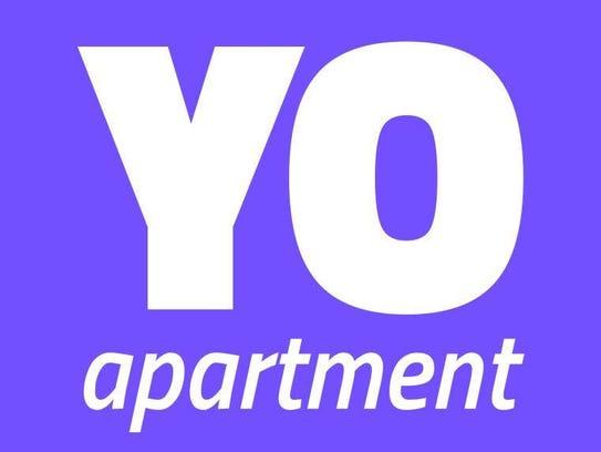 The YOapartment logo.