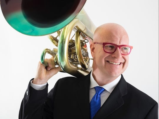 Patrick Sheridan will perform a recital with hornist William Scharnberg at 7:30 p.m. Saturday in Wolfe Recital Hall.