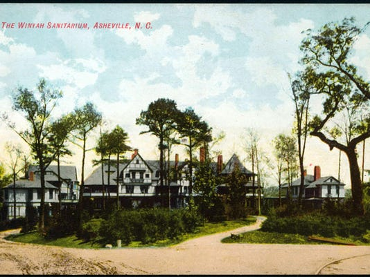 Winyah Sanitarium from postcard