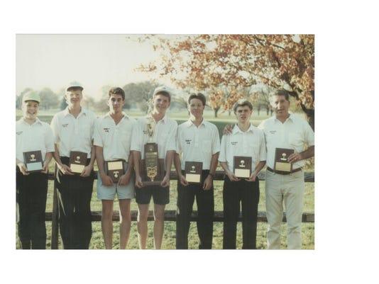 2008 - Golf Team - 1989