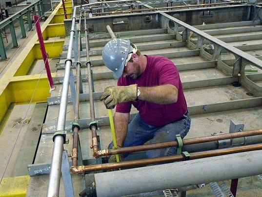 Ingalls Shipbuilding, welder