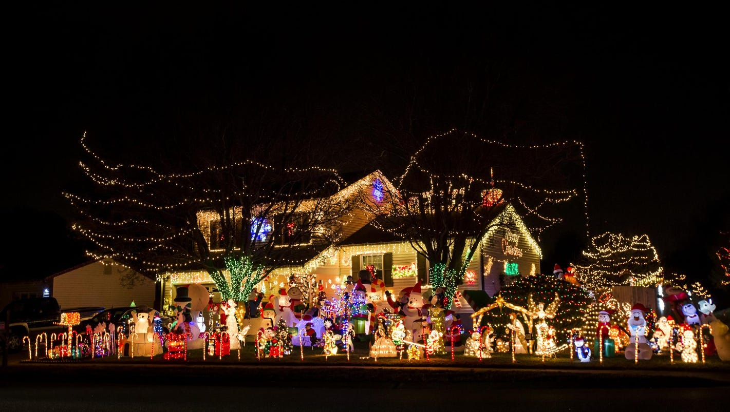 500 electric bill small price for lighting up christmas