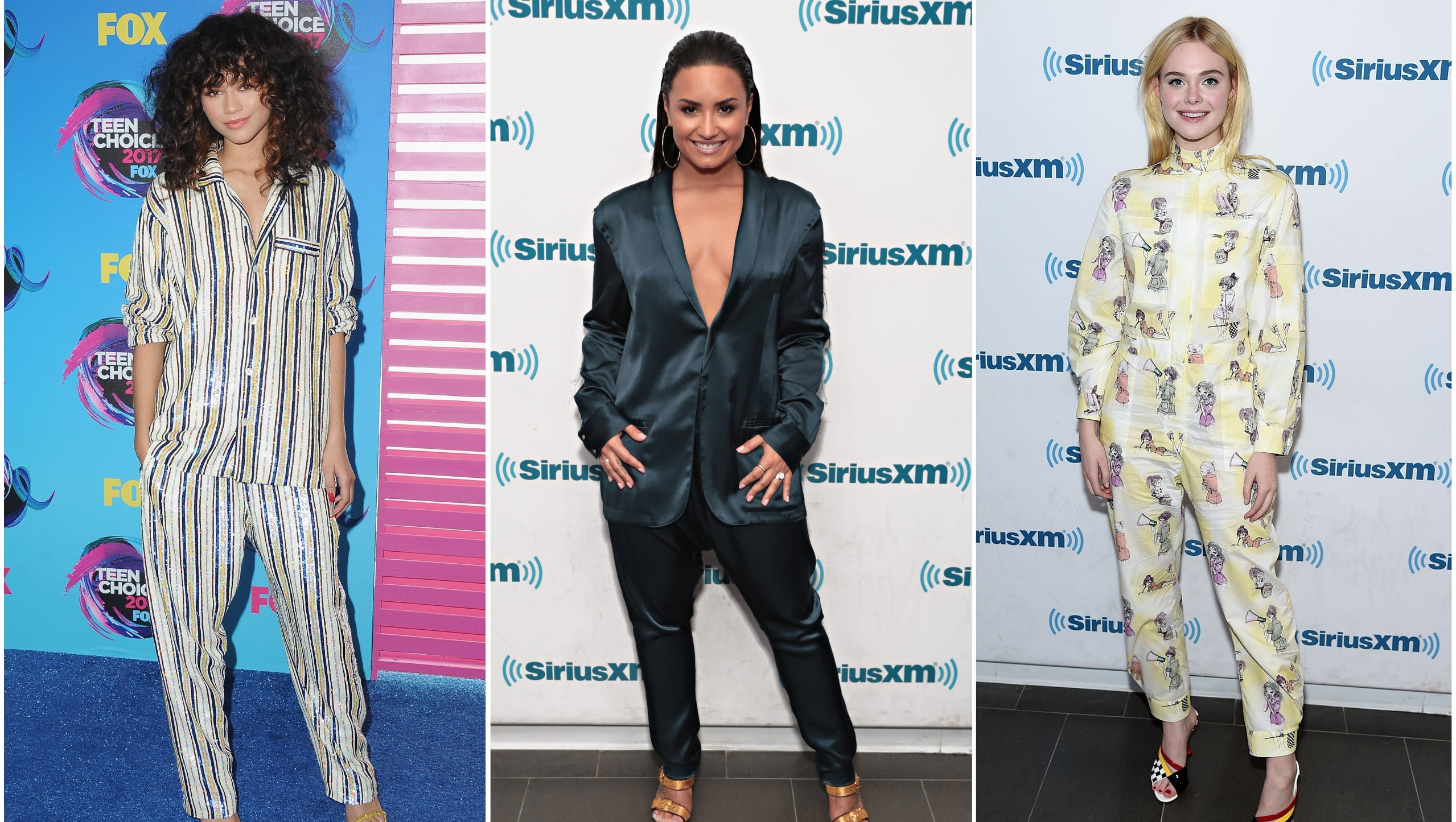 Celebrities Are Taking The Pajama Trend To the Streets