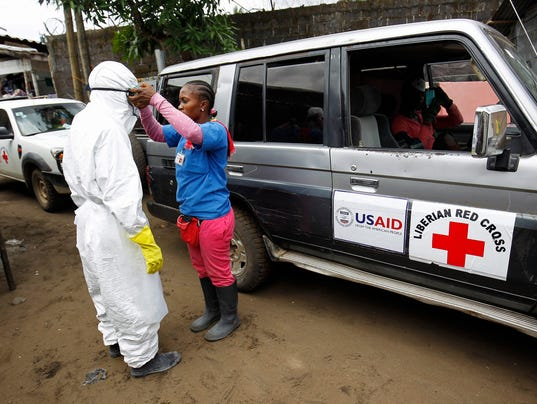 EPA LIBERIA HEALTH EBOLA HTH EPIDEMIC & PLAGUE LBR