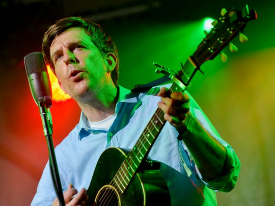 Ed Helms performs in The Bluegrass Situation SuperJam at the Bonnaroo Music and Arts Festival, Sunday, June 12, 2016, in Manchester, Tenn.