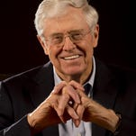 Robert Deutsch, USA TODAYCharles Koch, CEO of Koch Industries, is stepping into the spotlight as the company launches an ad campaign that shows the company's reach into all corners of Americans' daily lives. Charles Koch, chairman and CEO of Koch Industries, is a well-known contributor to conservative and libertarian political causes.