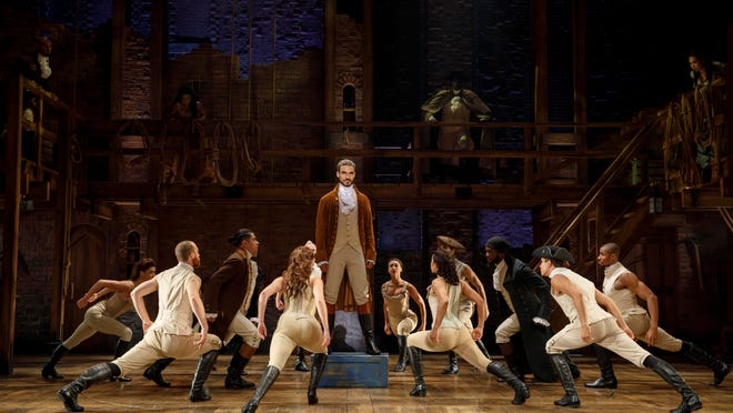 "The Wharton Center at Michigan State University in East Lansing will host ""Hamilton"" shows from May 14 to June 2."