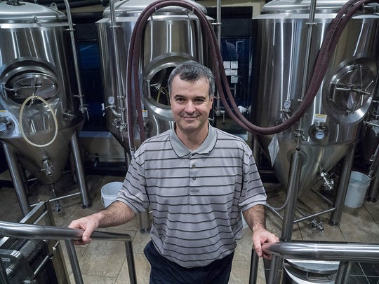 Chris Hibner learned brewing in his dorm room at college.