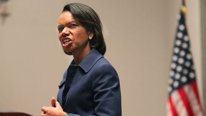 Former U.S. Secretary of State Condoleezza Rice.