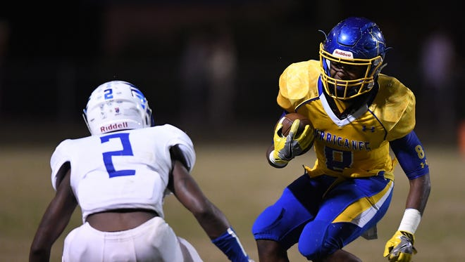 Trey Gray makes a move against Eastside. Gray and Wren host Ridge View this Friday to open the Class AAAA playoff.