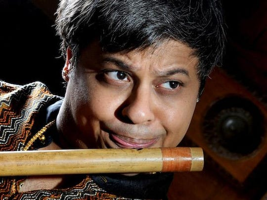 Flute maestro Shashank Subramanyam will perform Friday