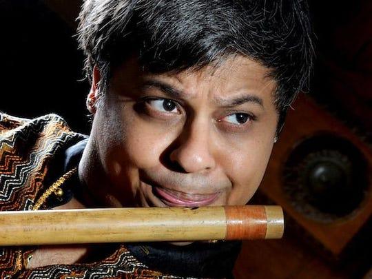 Flute maestro Shashank Subramanyam will perform Friday