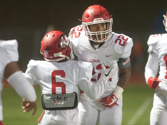 football:  Lenape vs. Cherokee