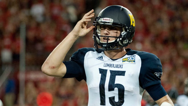 NAU rebounded with a 52-36 home win over Weber State last Saturday. Freshman quarterback Case Cookus threw for 353 yards and four touchdowns with one interception, spreading to ball to eight different receivers.