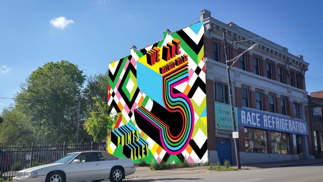 Meet your new cincinnati murals for Cincinnatus mural