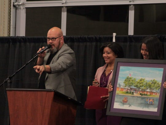 Lase year's Vision to Reality Gala and Auction, which