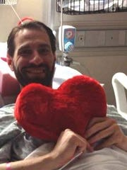 Locals started a Facebook group when Joel Faulk underwent a heart transplant in 2014.