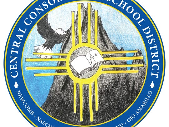 Shiprock High School senior Malachi Lee created the winning logo to represent the Central Consolidated School District.