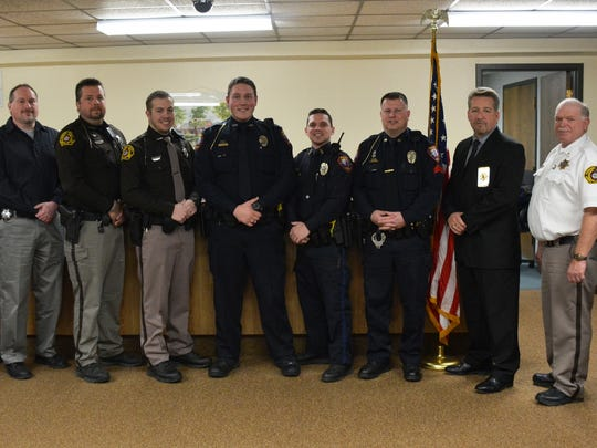 Members of the Kewaunee County Sheriff's Department