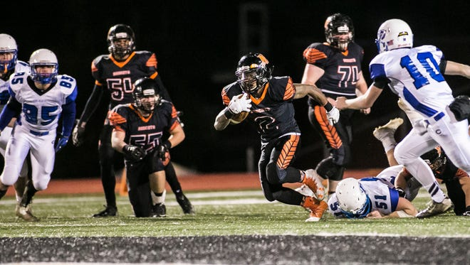 District 3 has passed a motion that will potentially change the football calendar, beginning in 2018-19. It would shorten the season and allow the district an opportunity to expand the playoffs. That could be good news for 5-A teams such as Northeastern, above.