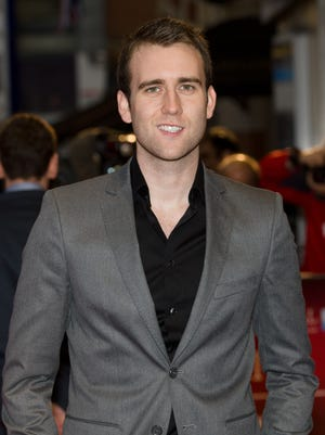 """British actor Matthew Lewis arrives ahead of the BFI film festival showing of """"Wasteland"""" at the Odeon in Leicester Square in central London, England on October 14, 2012."""