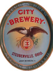 The City Brewery was located in Steubenville.