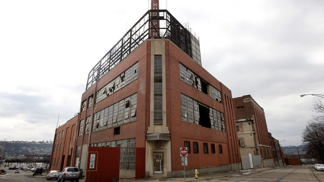 The former Hudepohl brewery in Queensgate sits vacant and dilapidated. Hudepohl-Schoenling ceased beer production at the site the 1990s and the port authority now owns it.