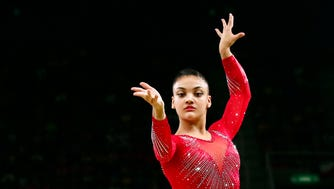 USA gymnast Laurie Hernandez is going from the Olympics to the dance floor.