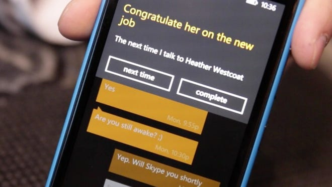 Cortana, Windows Phone personal digital assistant