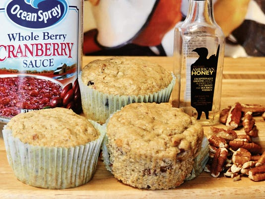 The Happy Baker's scrumptious cranberry muffins.