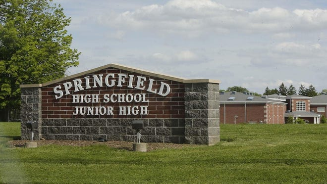 Springfield High School and Junior High School. The Springfield Local School District will have a levy on Tuesday's ballot.