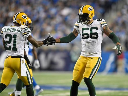 Ha Ha Clinton-Dix, Julius Peppers