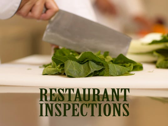 Presto graphic Restaurant Inspections