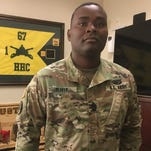 CSM Oliver looks forward to 'kicking butt' at NTC, defeating opposing force