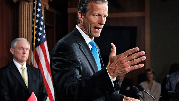 John Thune is one of the major players as the Senate crafts health care legislation that would replace Obamacare as the law of the land.