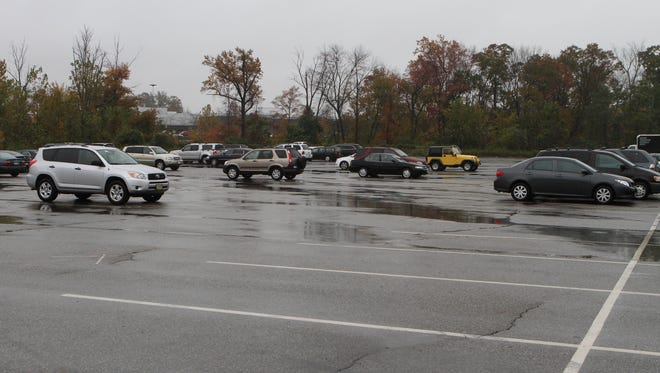 AAA says don't  park in remote areas of a shopping center parking lot, which might seem attractive when the lots are full.