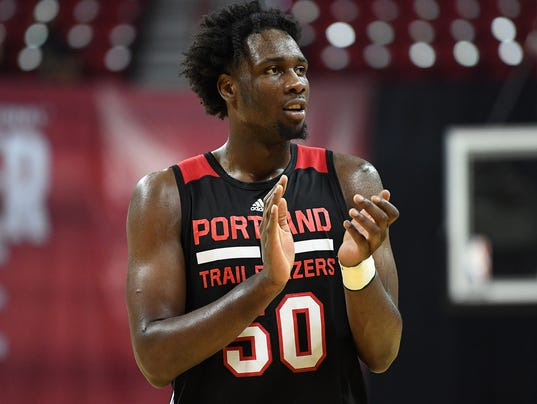 NBA: Summer League-Portland Trail Blazers at Memphis Grizzlies