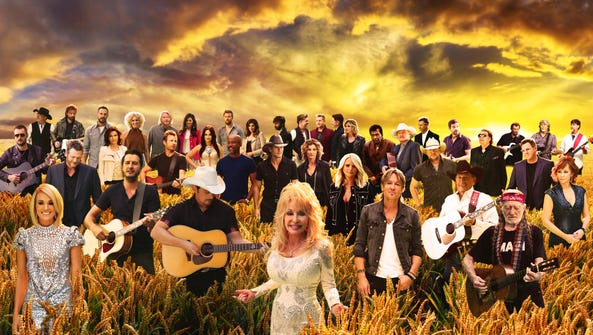 """Cast of """"Forever Country"""""""