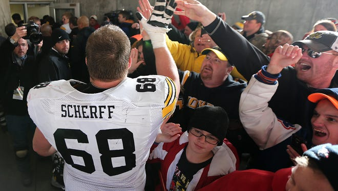 """What's the plan, now that Brandon Scherff may be out several weeks? It's time to make the most of Kirk Ferentz's """"Next Man In"""" mantra, writes Rick Brown."""