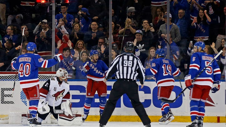 Rangers-Coyotes in review