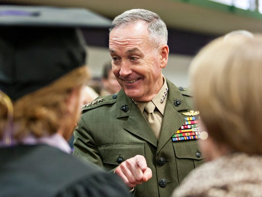 Gen. Joseph Dunford, chairman of the Joint Chiefs of